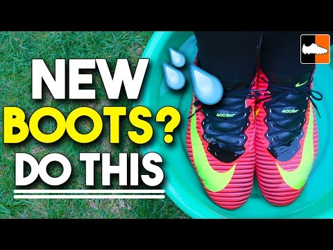 How to Break-In Your Football Boots & New Soccer Cleats