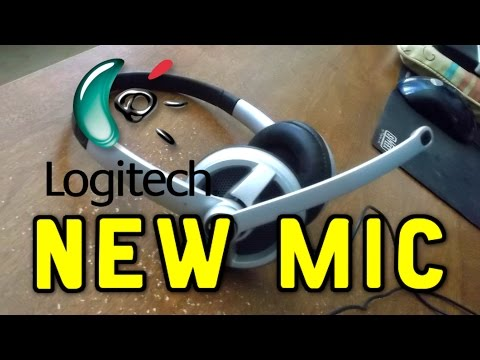 New Logitech Headset with  Noise Cancelling Mic!