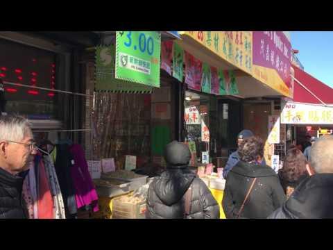 La Chinatown di Flushing, NY