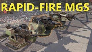 Crossout New Rapid Fire Machine Guns Videos - 9tube tv