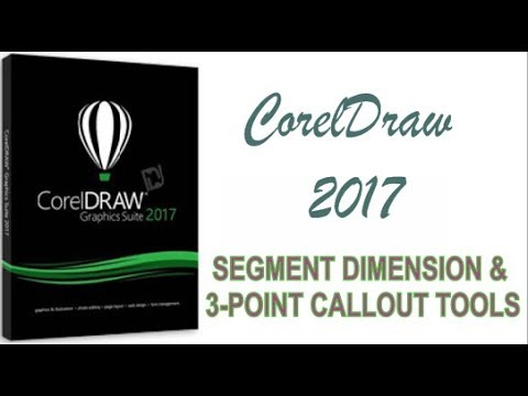 COREL DRAW 2017 USING SEGMENT DIMENSION & 3 POINT CALLOUT HINDI URDU PART 28