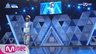 PRODUCE 101 season2 [단독/풀버전] FNC_유회승 ♬누난 너무 예뻐 @기획사별 퍼포먼스 170414 EP.2