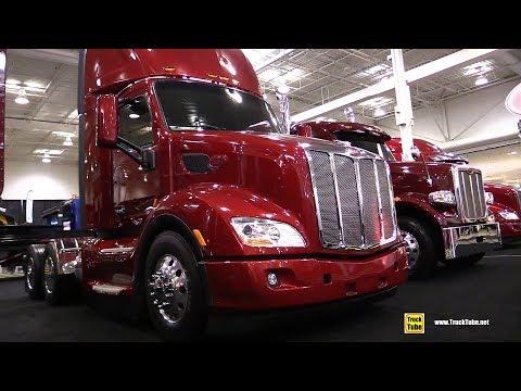 2018 Petrebuilt 579 EPIQ Day Cab Truck - Exterior and Interior Walkaround - 2018 Truckworld Toronto