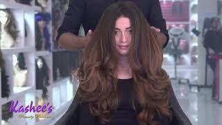 Alizay shah Hair Cutting by KASHIF ASLAM