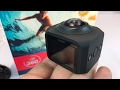 SEREE S3-BK 360 Degree VR Panoramic Camera 30fps WIFI Remote Control Sport Action Camcorder