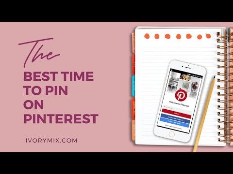 How to find the best time to pin on pinterest