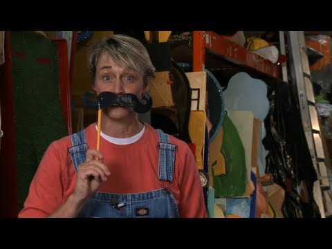 How to Make Duct Tape Mustache | Sophie's World