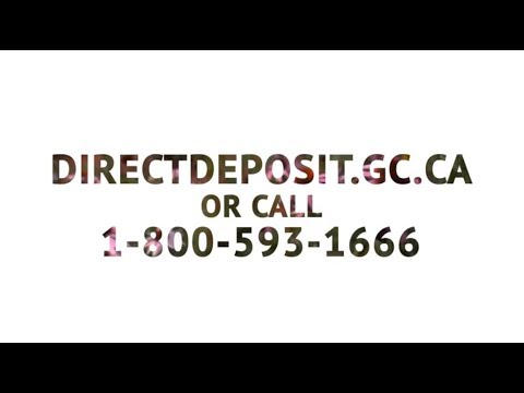 Direct deposit's benefits for seniors receiving payments from the Government of Canada