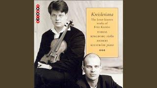 Aloha Oe Arr For Violin And Piano Arr F Kreisler