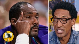 What I said to Karl Malone was the best line of trash talk in NBA history -Scottie Pippen | The Jump