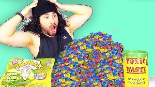 SOUREST CANDY IN THE WORLD CHALLENGE! (SUPER SOUR!)