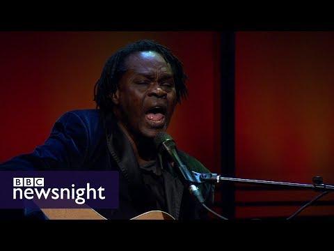 Baaba Maal sings 'Traveller' - BBC Newsnight