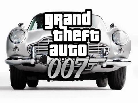 GTA 5: 007 (Movie Skit)