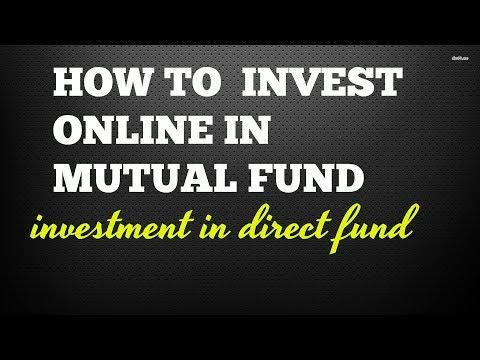 how to invest online in mutual fund# invest in direct fund-म्यूच्यूअल फण्ड में ऑनलाइन इन्वेस्टमेंट