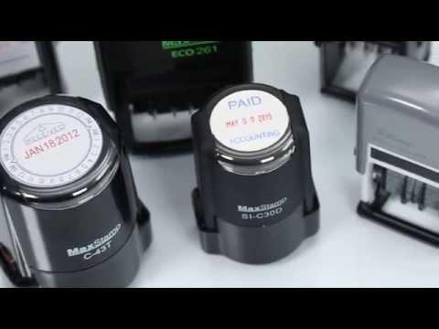 Custom Self Inking Date Stamps | Acorn Sales