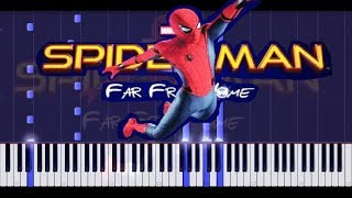 Download SPIDERMAN FAR FROM HOME TRAILER MUSIC on piano Video