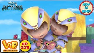 Vir: The Robot Boy | Vir vs Dangerous seven part 2 | As Seen On HungamaTV | WowKidz Action