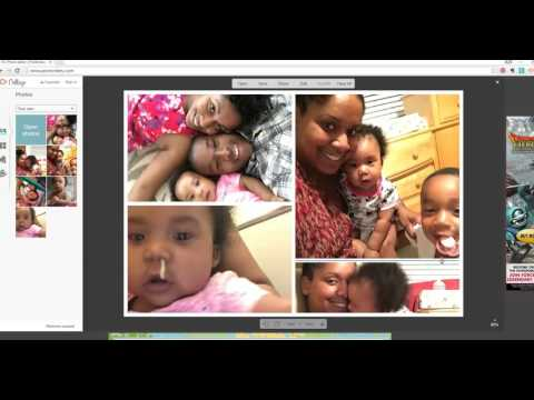 Create Collage in PicMonkey