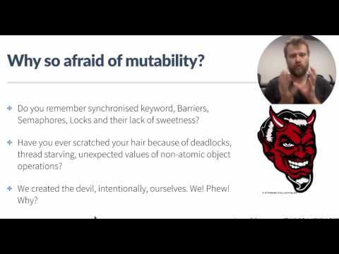 Immutability of data
