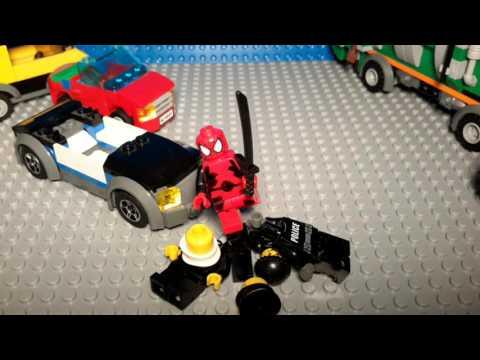 Custom Lego Deadpool Trailer!!