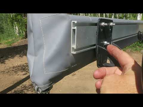 Truck Camping: Attaching the ARB 2500 Awning To My Roof Rack