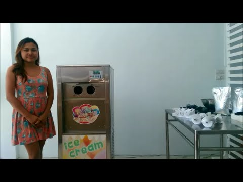 Instruction and Introduction to Soft Serve Ice Cream Making