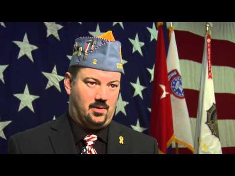Colorado Sons of The American Legion Commander Mike Kirschner