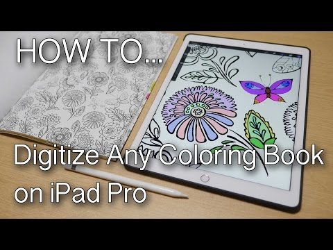 iPad Painting & Coloring Books