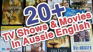 20+ Movies & TV Shows In Aussie English | Learn Australian English | Aussie Culture