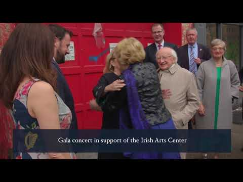 President Higgins in New York to address the United Nations General Assembly
