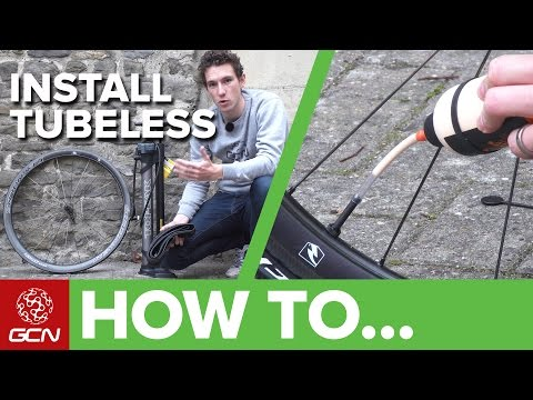 How To Install Tubeless Cyclocross Tyres