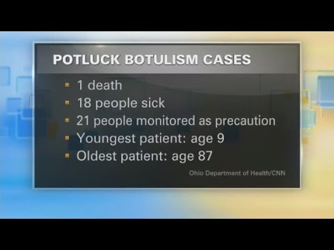 Botulism outbreak in Ohio
