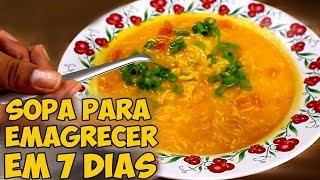 Download SOPA QUE EMAGRECE 9 KG EM 7 DIAS Video