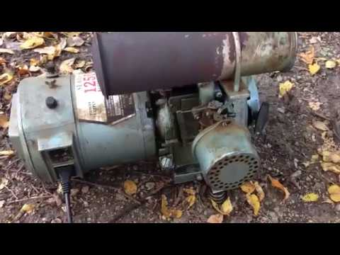 Vintage sears generator