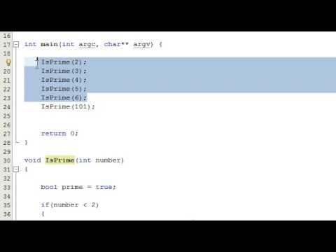 How to Determine if a Number is a Prime Number by Writing a Computer Program , C++ , Part 2