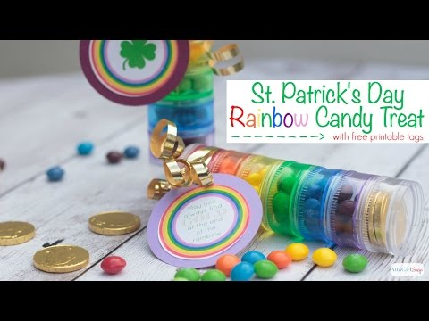Easy DIY St. Patrick's Day Candy Treat