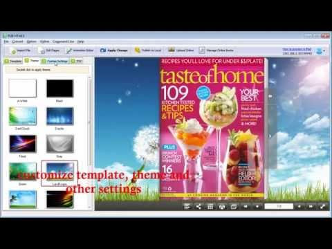 Free Download of PUB HTML5 for PDF to HTML5 iPad Magazine