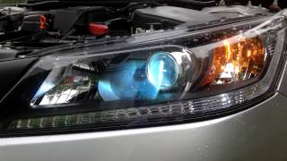 How To Install Hid 2013 2014 Honda Accord