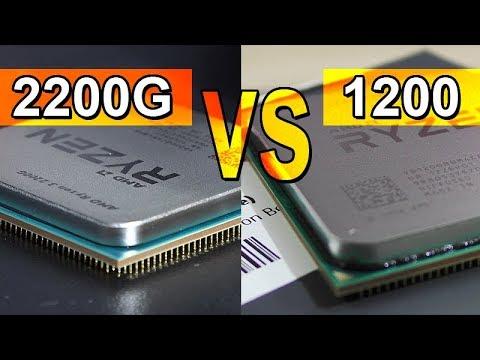 First Ryzen 3 Already Obsolete? -- Ryzen 3 2200G vs 1200