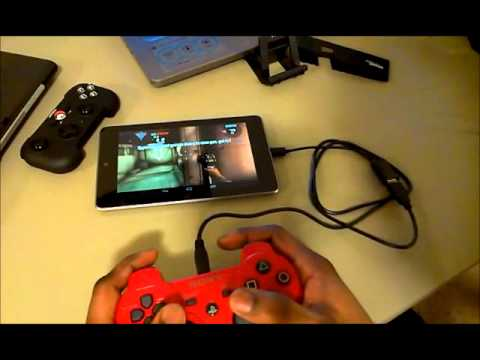 Play Android Games with your PS3 Controller