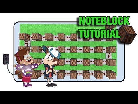 Gravity Falls Doorbell - Note Block