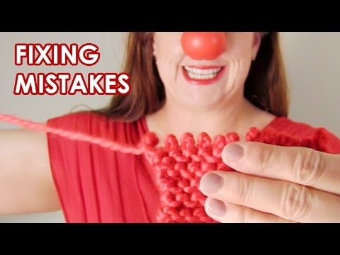 Frogging with Flair: Fixing Knitting Mistakes