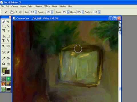 Textures in Digital Painting Tutorial