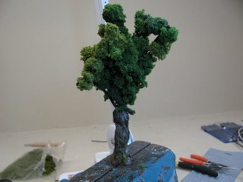 How to Make Realistic Miniature Trees - Intermediate