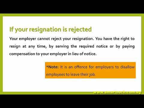 Payslip Singapore : Employment Practices - Termination of Employment Definitions