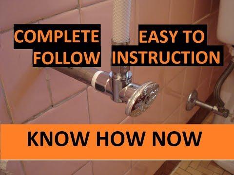 Replace Bathroom Sink Shut Off Valve