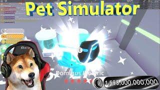 Roblox pet simulator DELETING RAINBOW DOMORTUUS!