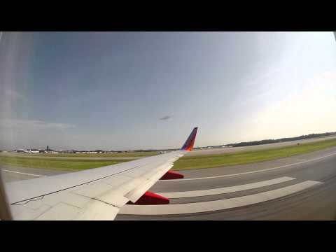 Southwest Airlines Boeing 737-700 First International Departure from Baltimore (BWI)