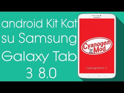 [GUIDA] Come installare ROM CyanogenMod 11 su Samsung Galaxy Tab 3 8.0 (Wifi-3g)