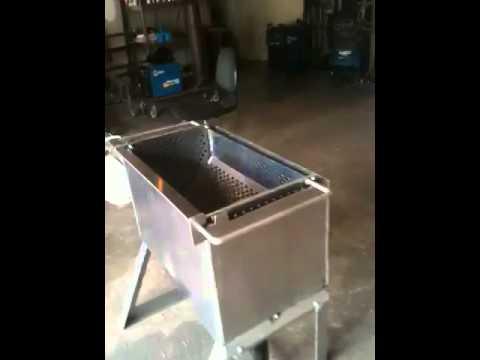 Custom crawfish boiler